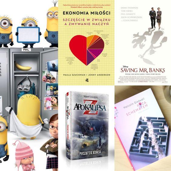 TOP Miesiąca Książki, Filmy, Muzyka - Luty