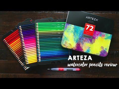 Arteza Watercolor Pencils Review Watercolor Watercolor Pencils