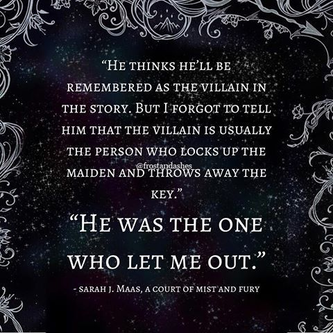 A Court Of Mist And Fury By Sarah J Maas Acomaf Fury Quotes