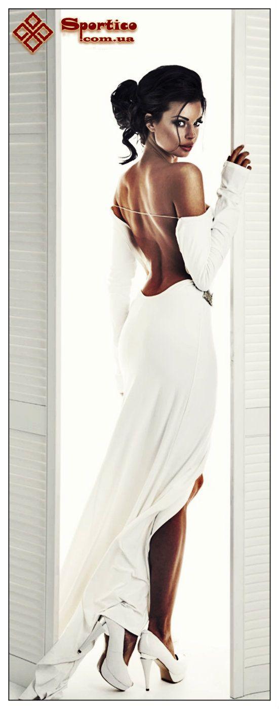 #sexy #hot #white #dress