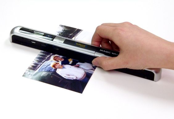 Full Page Portable Document Scanner