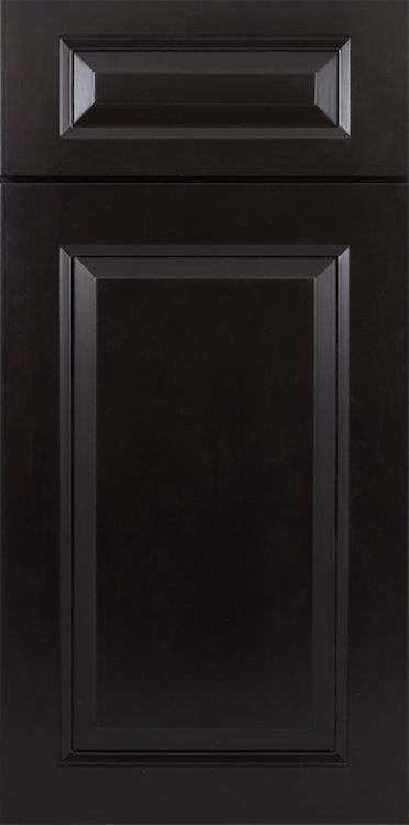Gramercy Midnight Cabinet Sample Door, but a Shaker style