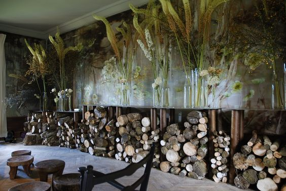 Château de Beauvoir. Старинный замок во Франции художницы Claire Basler - Дизайн интерьеров | Идеи вашего дома | Lodgers