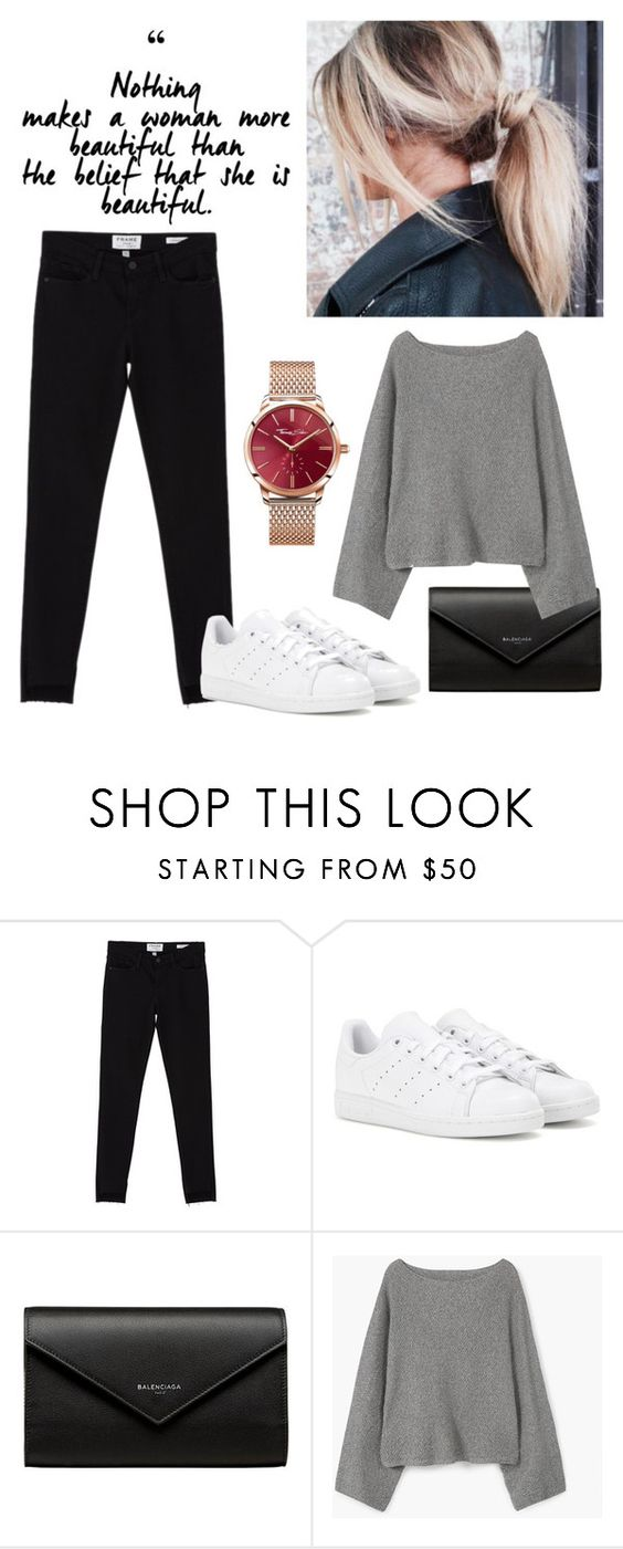 """Beauty is in you"" by johannary ❤ liked on Polyvore featuring Frame Denim, adidas, Balenciaga, MANGO and Thomas Sabo"