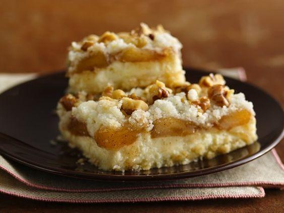 Apple Streusel Cheesecake Bars (Gluten Free)