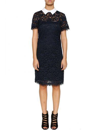 MICHAEL MICHAEL KORS Michael Michael Kors Lace Dress. #michaelmichaelkors #cloth #dresses