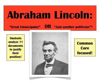 abraham lincoln dbq On april 11, 1865, abraham lincoln delivered  with malice toward none: lincoln's assassination excerpts from lincoln's last public address april 11, 1865.