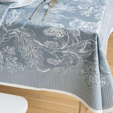 Mantel y servilleta algod n estampado silvestre mesas for Zara home manteles mesa