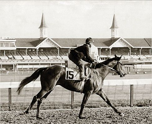 Kentucky Derby and Preakness winner Cannonero II