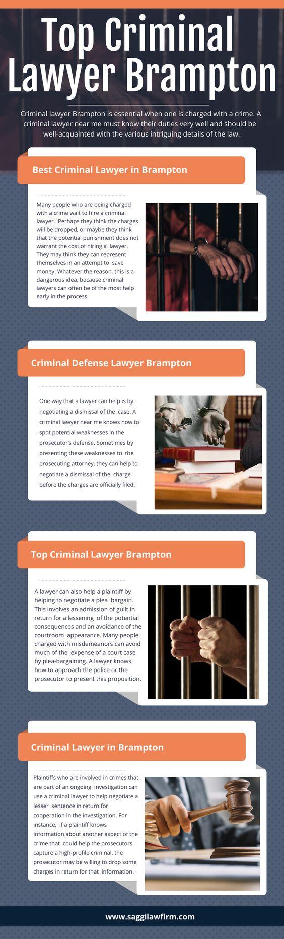 Top Criminal Lawyer Brampton