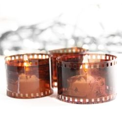 Use up your old film for this super simple project!