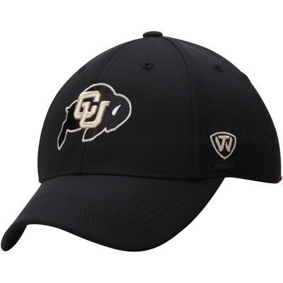 Colorado Buffaloes Top of the World Jock II 1Fit Flex Hat - Black
