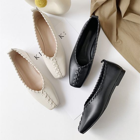35 Comfort Flat Shoes To Inspire Everyone shoes womenshoes footwear shoestrends