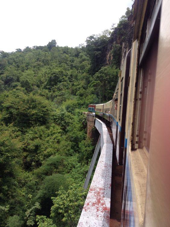 Train from Pyin U Lwin to Hsipaw// Amazing journey in Myanmar