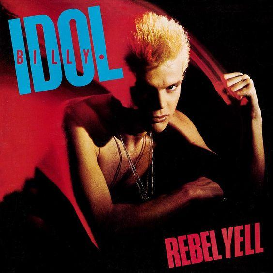 Billy Idol – Rebel Yell (single cover art)