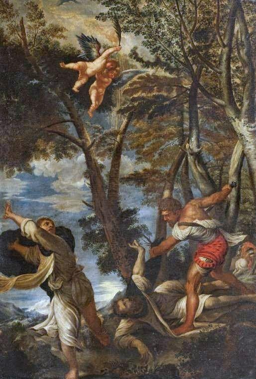 Muerte De San Pedro Mártir Tiziano 1525 30 Pala Para La Iglesia De Santi Giovanni E Paolo Venecia Pinturas Renacentismo Pales