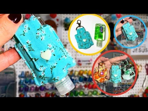 Diy Porta Alcool Em Gel Hand Sanitizer Holder Aline Nunes