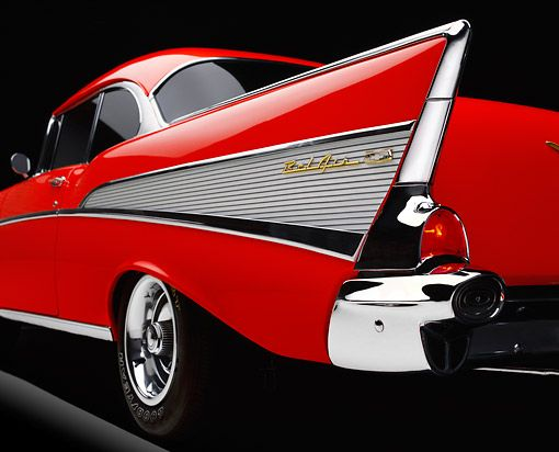 1957 Chevy Bel Air tail fin