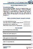 #Satzarten #Satzzeichen Es handelt sich um 15 Diktattexte, die auf 15 #Arbeitsblaetter verteilt sind. In den Klammern werden die fehlenden Satzzeichen eingesetzt. Es werden die Satzarten erkannt, bestimmt und geändert.  •Fragesatz •Ausrufesatz •Aussagesatz Das aktuelle Übungsmaterial enthält genau die Anforderungen, die in der Deutsch Schularbeit / #Schulprobe / Schulaufgabe und #Klassenarbeit* abgefragt werden.  15 Arbeitsblätter + 6 Lösungsblätter