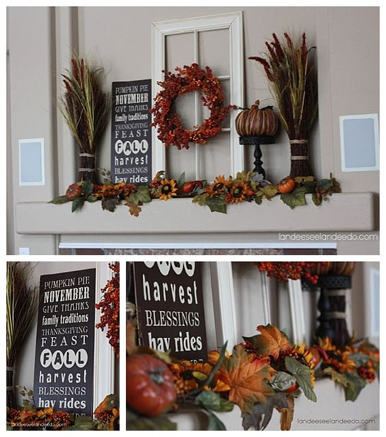 diy fall mantel decor ideas to inspire mantels home