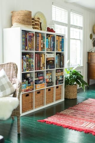 """Charming details abound in this remodeled 1920s """"Kit House"""" (like built-ins, a breakfast nook and a drool-worthy sunroom)."""