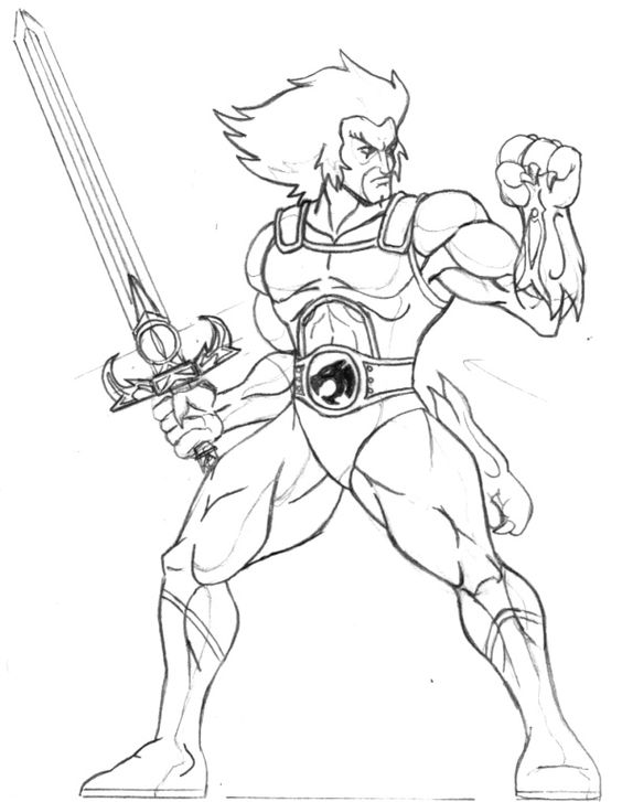 cheetara thundercats coloring pages - photo#7