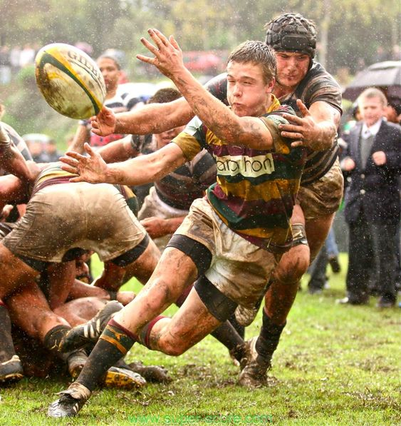 Old Rugby League Games: Rainy Rugby Game. Can't Wait To Do This.