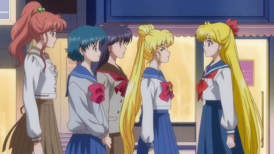 Sailor Moon Crystal Act 8 - The gang is all together