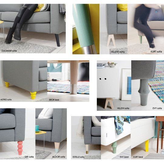 IKEA International Home Products Company That Designs And Sells - Add color to your room prettypegs replace your ikea legs