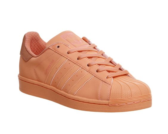 Buy Sun Glow Adidas Superstar 1 from OFFICE.co.uk.