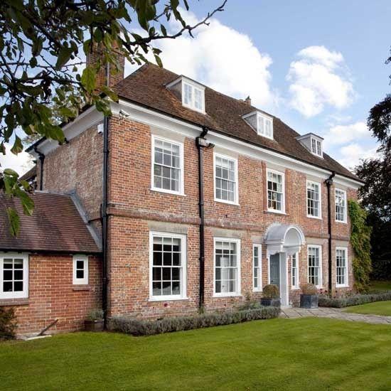 Hampshire Georgian house