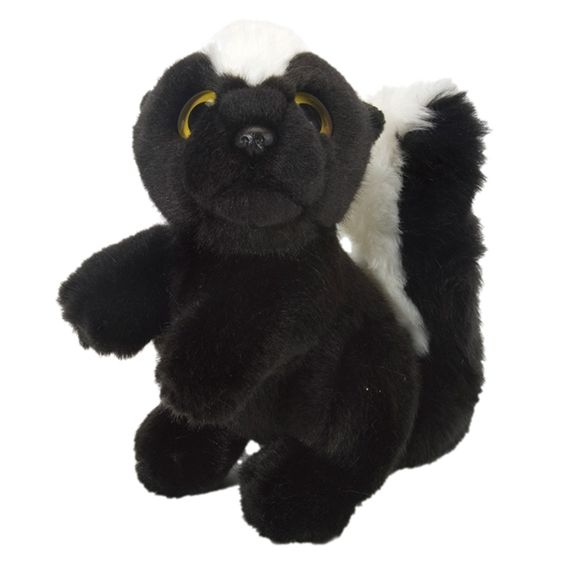 Stuffed Skunk Wild Watcher 7 Inch Plush Animal By Wild Republic at Stuffed Safari