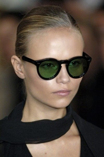 Natasha #Poly- go-anywhere shades with green tint: