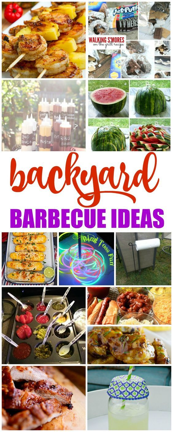 I have some great Backyard Barbecue Ideas