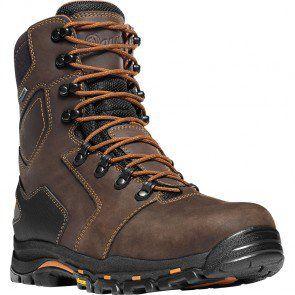 13866 Danner Men's Vicious 8 Work Boots - Brown www.bootbay.com
