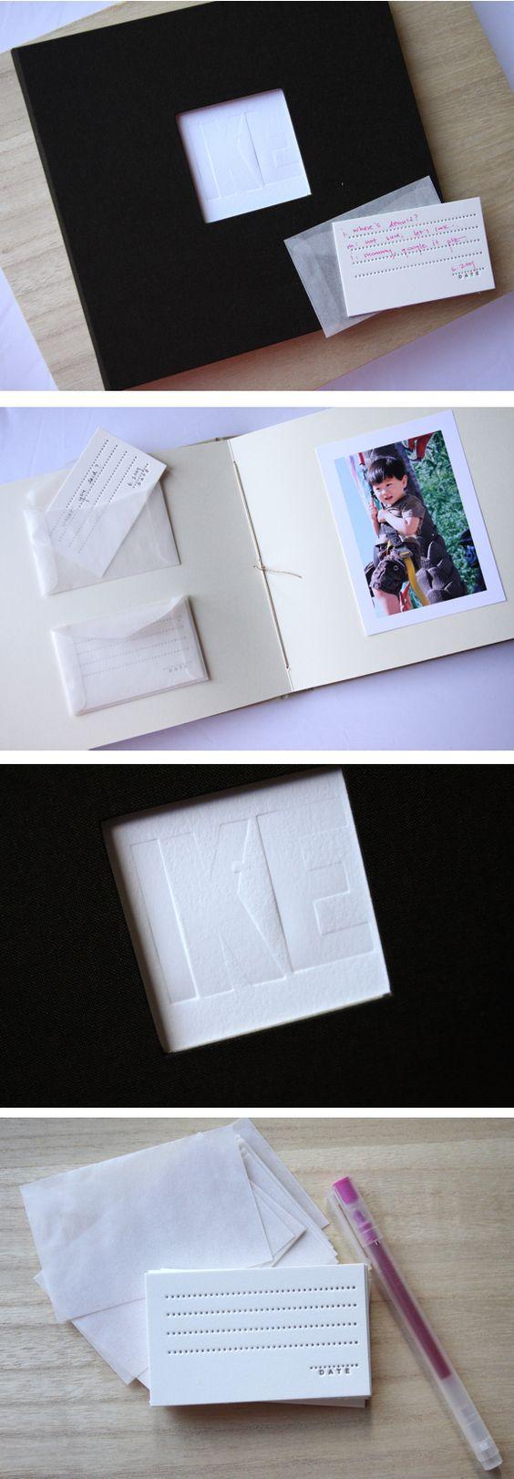 perfect baby book idea