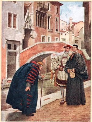 explore the three portrayals of shylock She would make an excellent leader because of three important  leading to many portrayals of jews as  merchant of venice the character of shylock in.