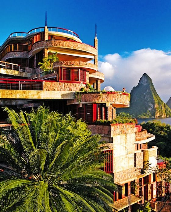 Jade Mountain, St. Lucia - This is my favorite island and one of my fav spots on the island!