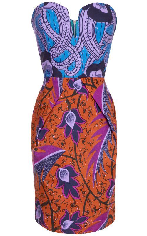 beautiful mix of colors and prints, just the way I like it! Ashanti Brazil -