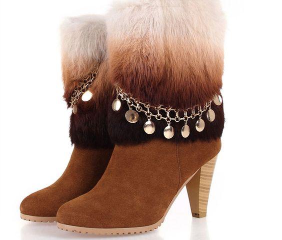 Trendy Fur Boots