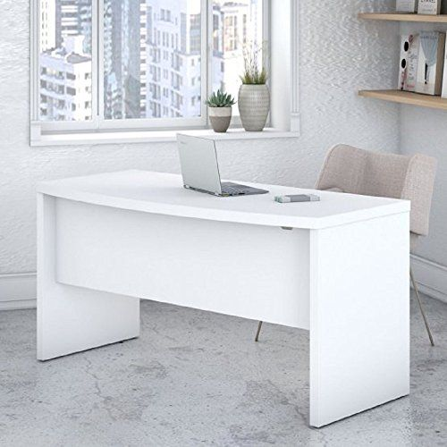 Office Furniture Study Desk Bow Front Table 60w X 28 03d X 30h