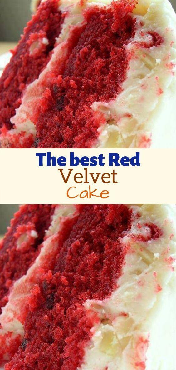 The Best Red Velvet Cake Best Red Velvet Cake Velvet Cake Recipes Homemade Red Velvet Cake