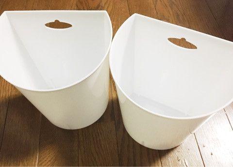 セリア 壁掛けゴミ箱 水切りネット収納 壁掛け ゴミ箱 ゴミ箱 壁掛け 収納 アイデア