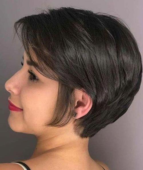 20 Stylish Short Bob Haircuts For Women Short Haircut Com Bobpixie Cabelos Curtos Estiloso Penteado Cabelo Curto Cabelo Incrivel