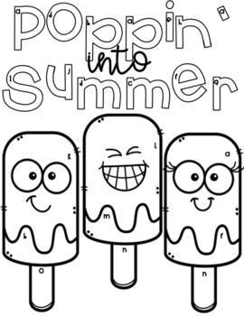 End Of Year Coloring Page Math Popsicles Third Grade 3rd Coloring Pages Multi Step Word Problems Word Problems