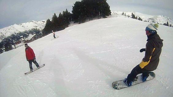 Esquiando en Grandvalira en Andorra