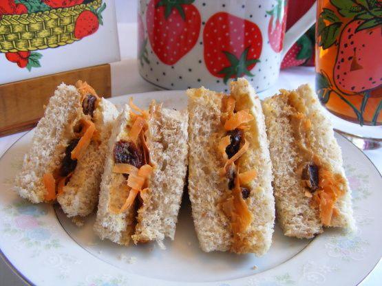 Carrot-Raisin Pb Sandwiches Recipe - Food.com