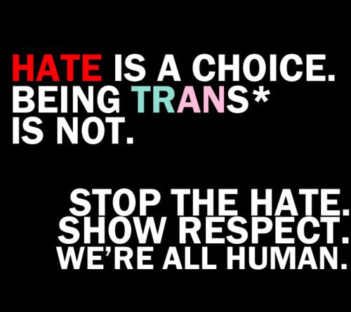 Image result for stop transgender
