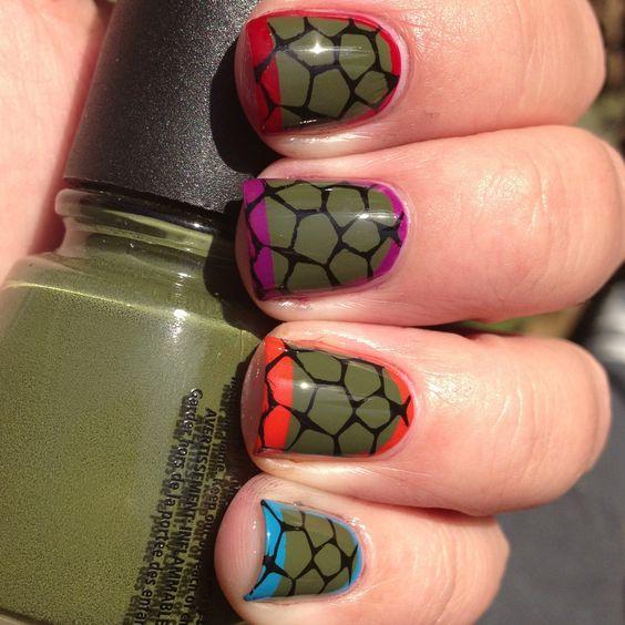 Teenage mutant ninja turtles say whaaaa