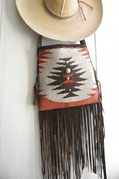 Knit/felt, plus fringe.: